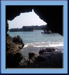 Caves at Wai'anapanapa